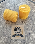 100% Pure Beeswax Honeycomb Votive Candles