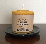 100% Pure Beeswax Honeycomb Pillar Candle | 3X3