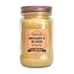 Dragons Blood Beeswax Mason Jar Candle | 16 oz