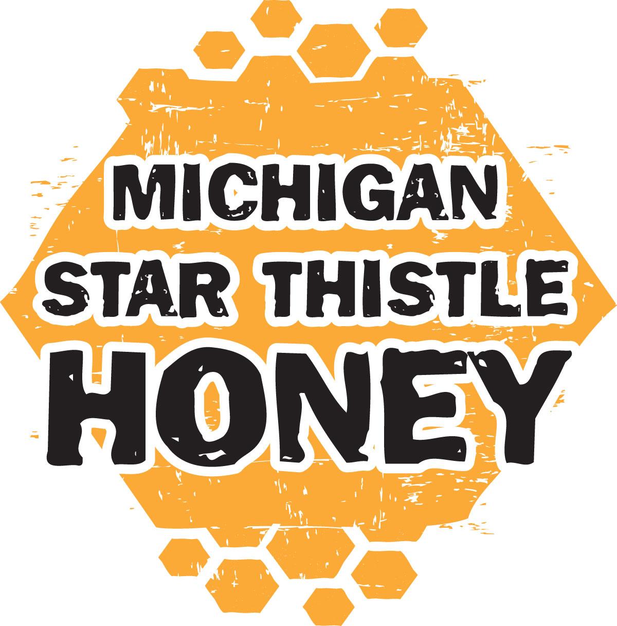 100% Pure & Raw Michigan Star Thistle Honey | 22 Oz