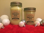 Christmas Wish Scented Beeswax Mason Jar Candle | 8 oz