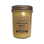 Cracklin Birch Scented Beeswax Mason Jar Candle | 8 oz