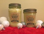 Reindeer Retreat Scented Beeswax Mason Jar Candle | 8 oz
