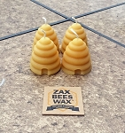 100% Pure Beeswax  Skep Votive Candles