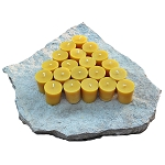 100% Pure Beeswax BULK Votive Candles | 20 Pack