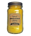 Applelicious Scented Beeswax Mason Jar Candle | 16 oz