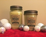 Christmas Spendor Scented Beeswax Mason Jar Candle | 16 oz