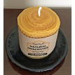 Honeycomb 100% Pure BEESWAX Pillar Candle 3X3