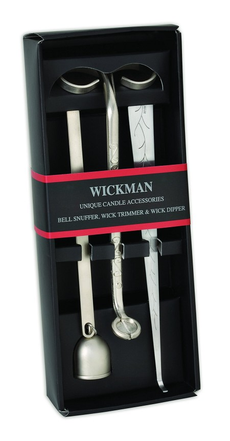 Wick Trimmer, Snuffer, Dipper Gift Set