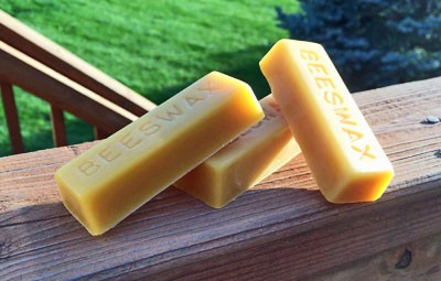 Triple Filtered Pure American Beeswax Bars | 1 Oz