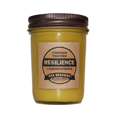 Resilience Limited Released Beeswax Mason Jar Candle