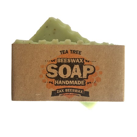 Tea Tree Natural Handmade Beeswax Soap